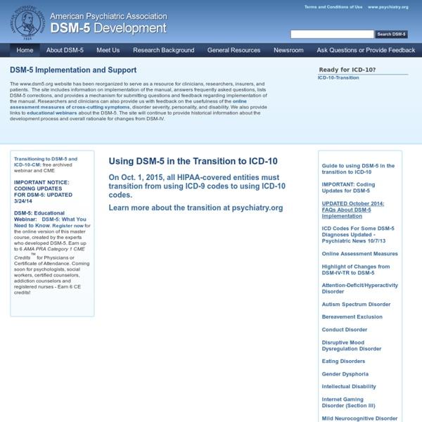 APA DSM-5