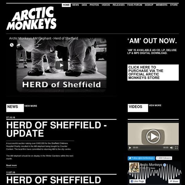Arctic Monkeys : Home