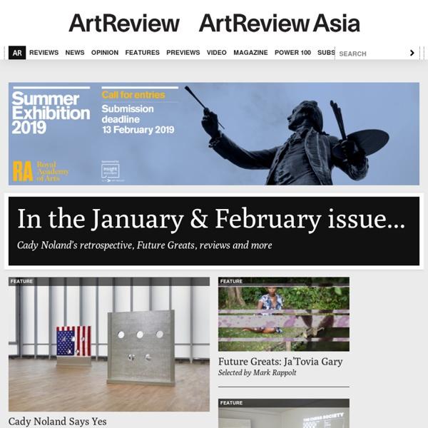 Artreview.com - Contemporary artists & photography