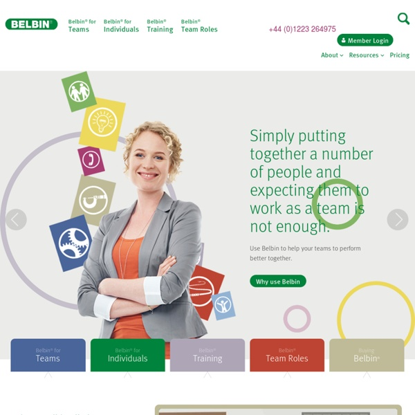 BELBIN®: The home of Belbin Team Roles