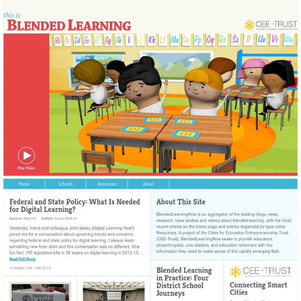 Blended Learning Now- Research and news about BL