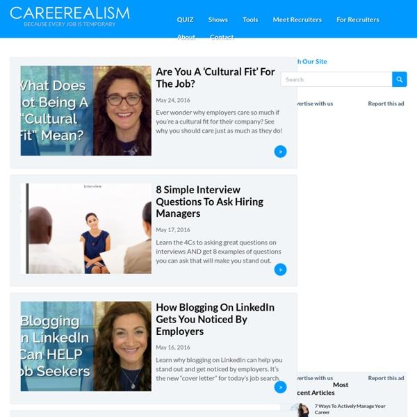 Career Advice & Job Search Magazine