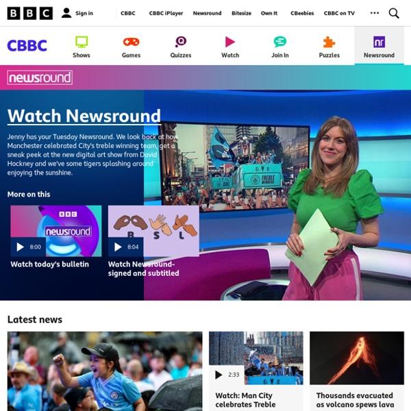 Home - CBBC Newsround