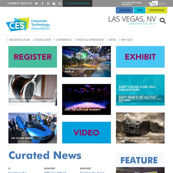 Home - 2014 International CES, January 7-10