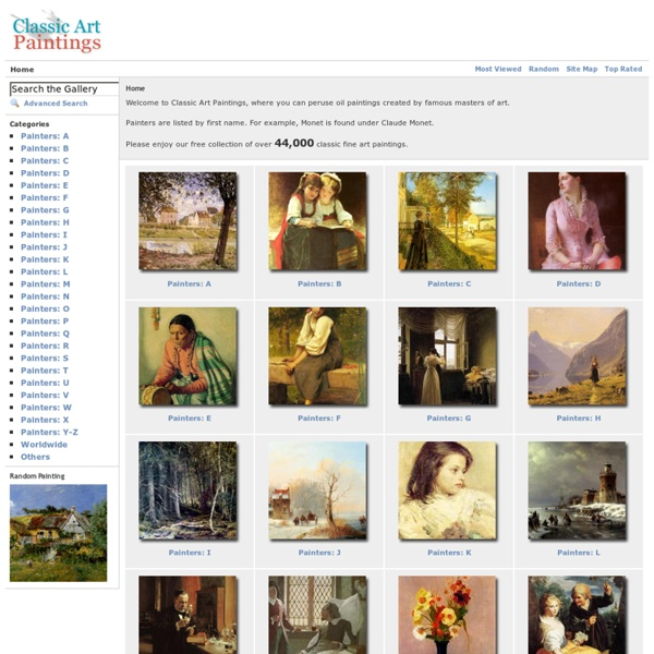 Home - Classic Art Paintings