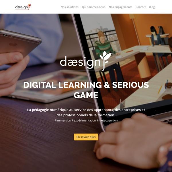 Daesign : serious game, pédagogie interactive