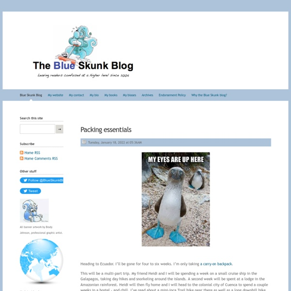 Home - Doug Johnson's Blue Skunk Blog