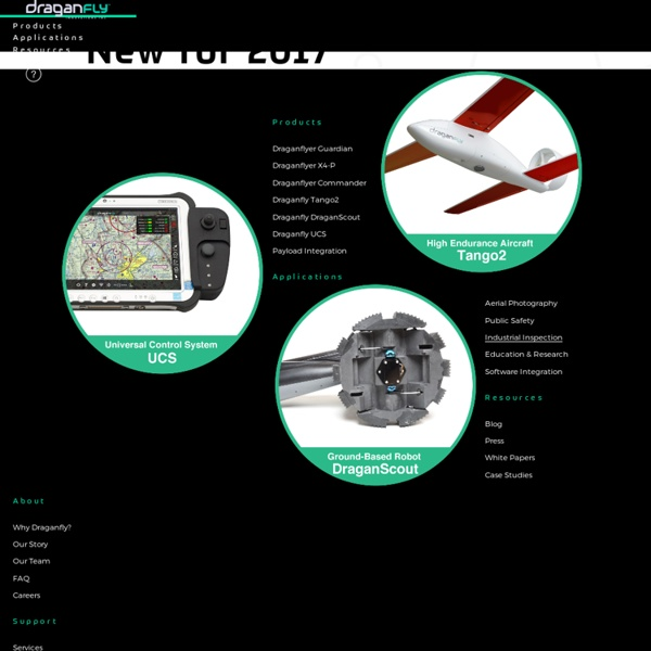 Draganfly.com Industrial Aerial Video Systems & UAVs