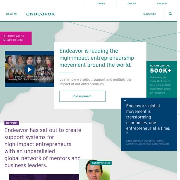 High-Impact Entrepreneurship