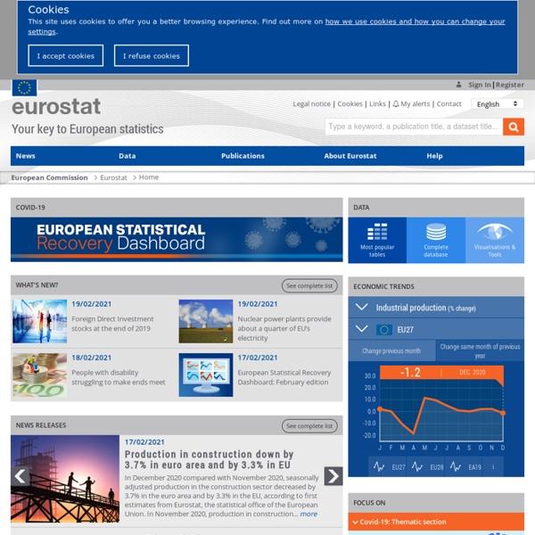 EUROPA - Eurostat - Home page