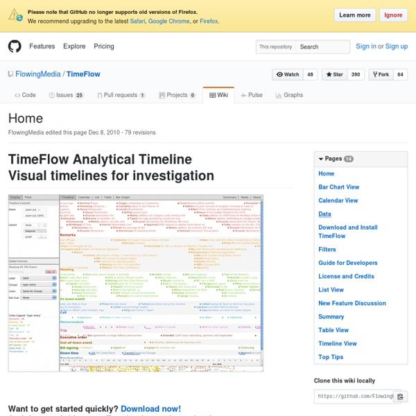 Home · FlowingMedia/TimeFlow Wiki