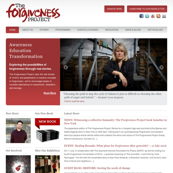 The Forgiveness Project — Awareness Education Inspiration