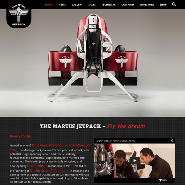 The Martin Jetpack - Martin Aircraft Company