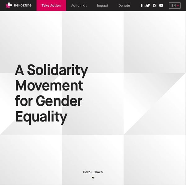 Home - HeForShe