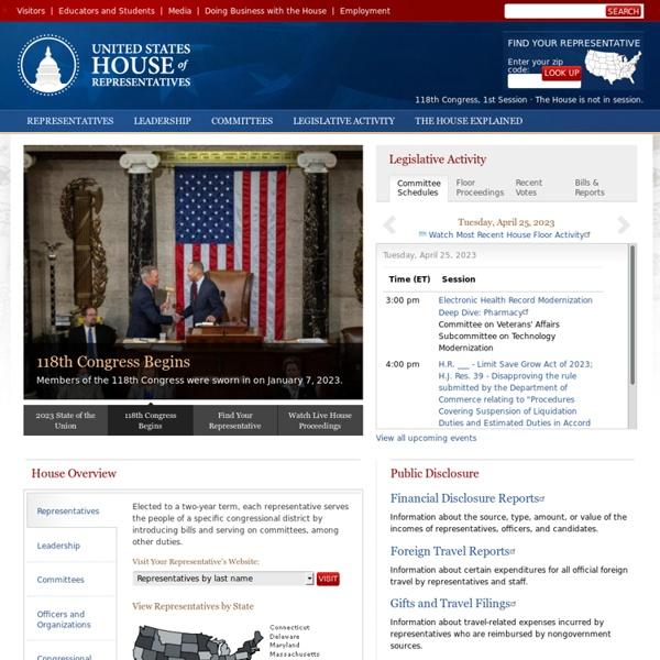 The United States House of Representatives · House.gov