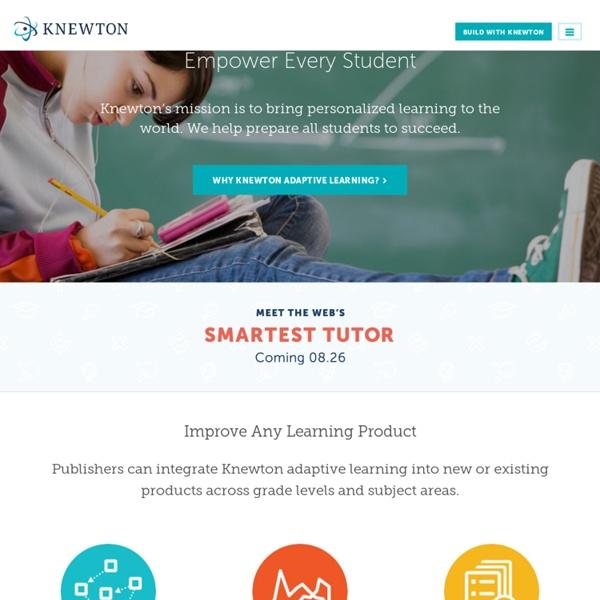 Knewton Adaptive Learning Platform
