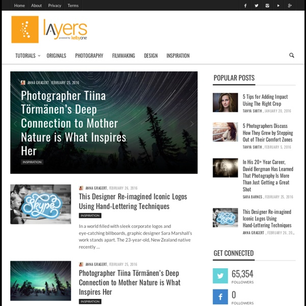 Layers Magazine « The How-to Magazine for Everything Adobe
