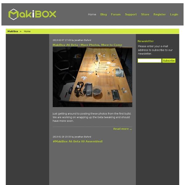 Home - MakiBox - Think Inside The Box