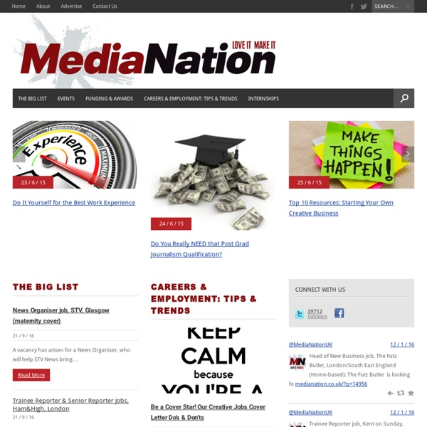 Media Work Experience