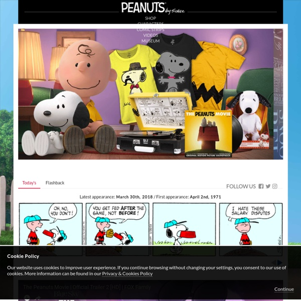 The Official Peanuts Website - Snoopy, Charlie Brown and Friends - Charles Schulz