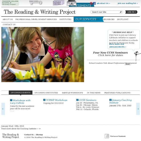 reading & writing project 2015 reading & writing workshop collections - miller, d & kelley,  teachers college reading and writing project and support lessons from the units of study writing series (by heinemann.