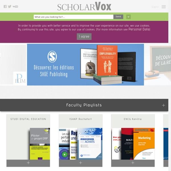 ScholarVox Management – La bibliothèque numérique des écoles de commerce (eBook)
