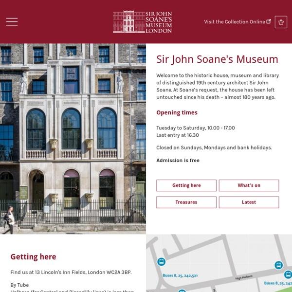 Soane Museum, London - Sir John Soane, R.A., Architect
