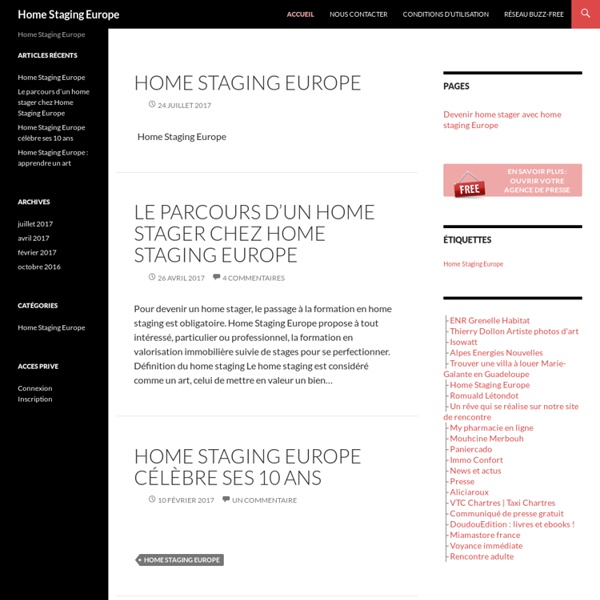 Un site utilisant Réseau presse buzz-free