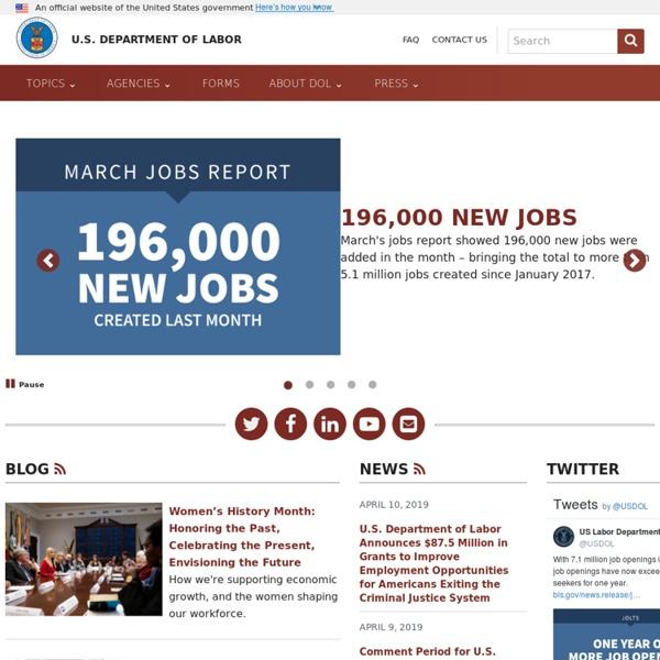 U.S. Dept. of Labor