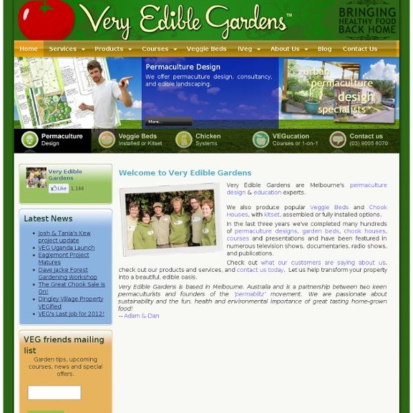 Home - Very Edible Gardens