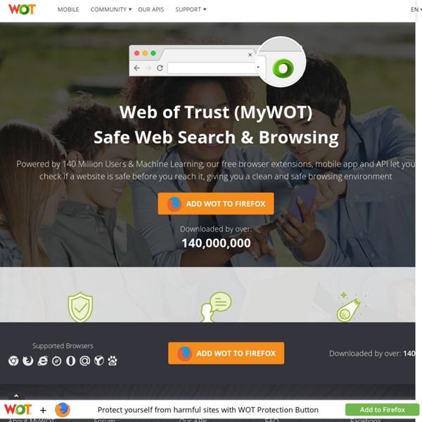 Safe Browsing Tool