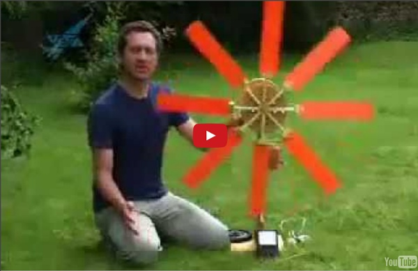 Homemade Wind Generator - Learn How Wind Power Works