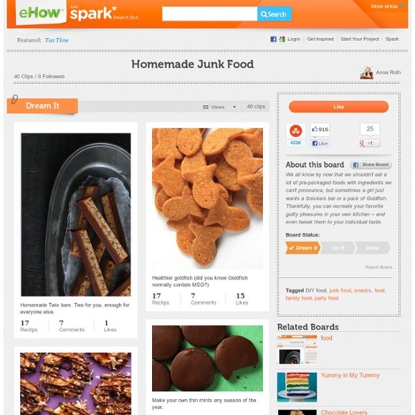 Homemade Junk Food