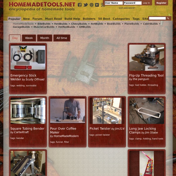 1,000's Of Homemade Tools