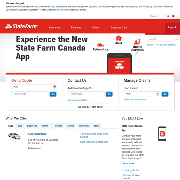 State Farm Auto Insurance Quote Entrancing State Farm Quotes Auto  Affordable Car Insurance