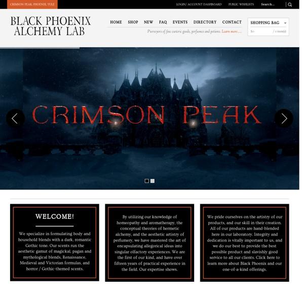 Black Phoenix Alchemy Lab: Potions, Perfumes, and Esoteric Brews