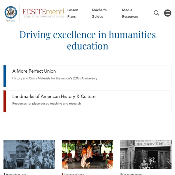 The Best of the Humanities on the Web