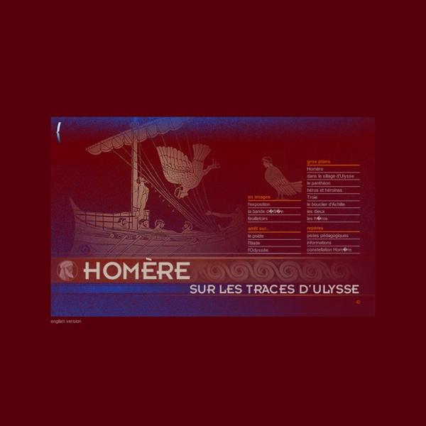 Homère, Expos de la BNF : Iliade, Odyssée, Ulysse, Troie