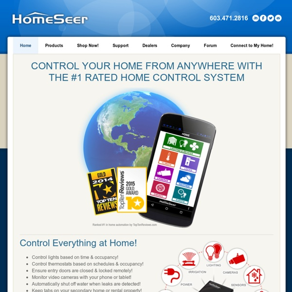 Home Automation Systems - HomeSeer