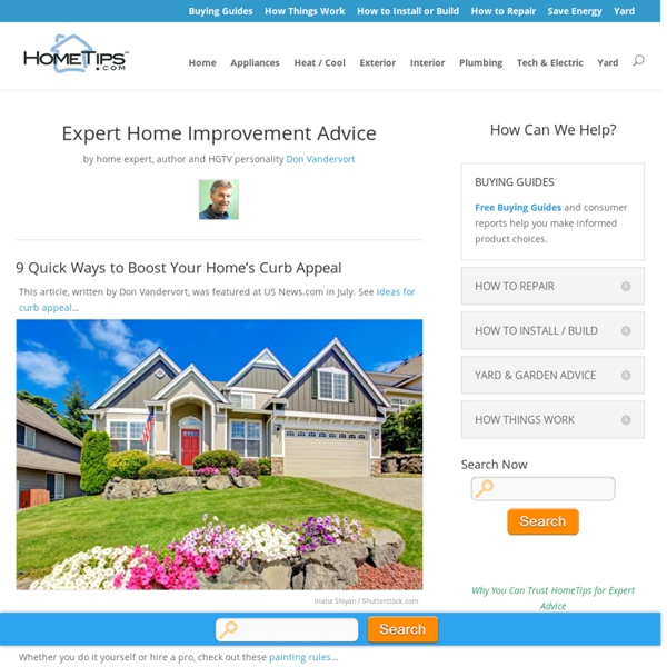 Expert Home Improvement Advice
