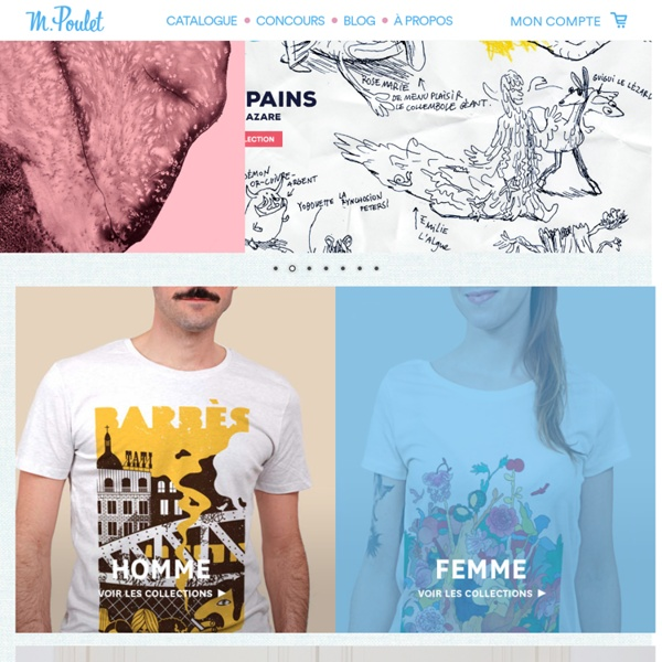Tee-shirt bio hommes, femmes et enfants I Monsieur Poulet