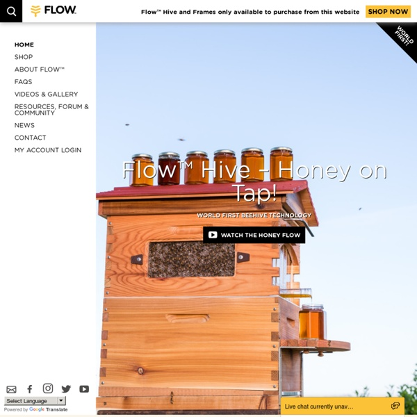 Honey On Tap From Your Own Beehive - Flow™ Hive Home