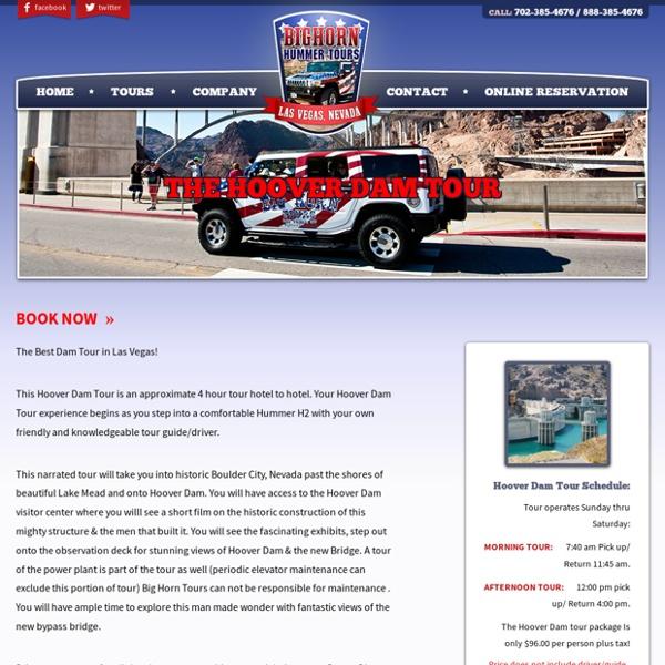 Tour Hoover Dam