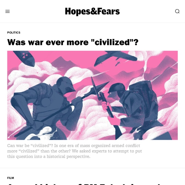 Hopes&Fears — Life and culture through a global lens
