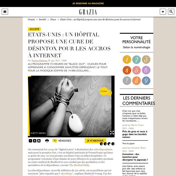 Etats-Unis : un hôpital propose une cure de désintox pour les accros à intern...