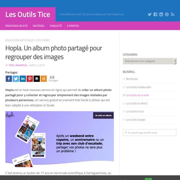 Album photo partagé - Hopla