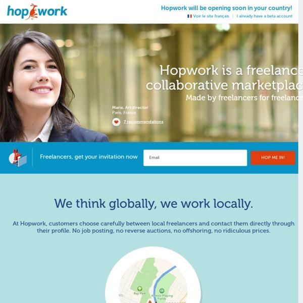 Les Freelances sont sur Hopwork