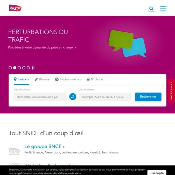 SNCF - Trains, Services, Entreprises, Emploi