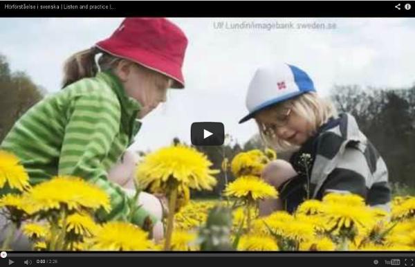 Hörförståelse i svenska