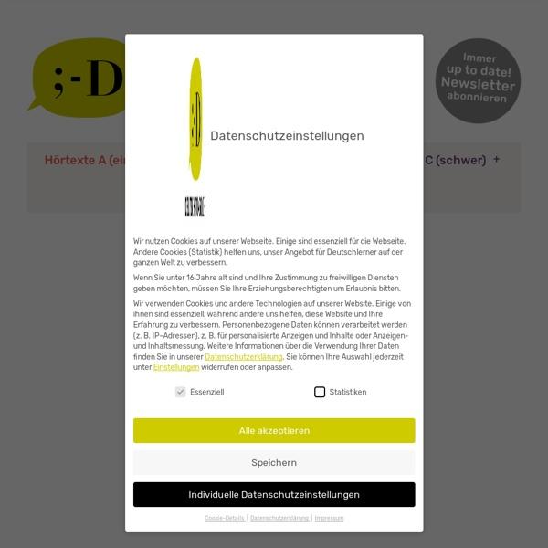 Hörtexte und Übungen - Deutsch to go